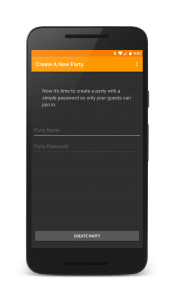 Starting a Spotify party is easy with Jukestar.