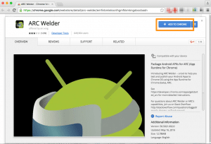 Download the ARC Welder extension to get the Android Jukestar jukebox app running on your PC or Mac
